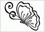 Butterfly Coloring Butterflies Printable Outlines Drawing Drawings Popular Any sketch template