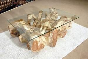 Glasplatte 120 X 80 : wohnzimmertisch aus einer baumwurzel 120 x 80 cm der tischonkel ~ Indierocktalk.com Haus und Dekorationen