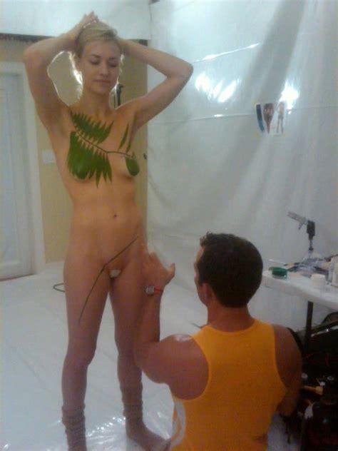 Yvonne Strahovski Naked Photos For Life Water Scandal