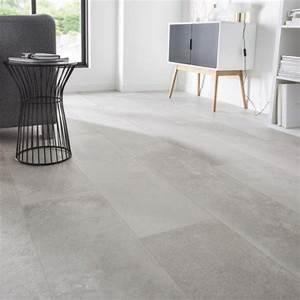 carrelage sol et mur greige effet beton harlem l30 x l With les idees de ma maison 9 carrelage sol et mur taupe effet beton harlem l 60 x l 60