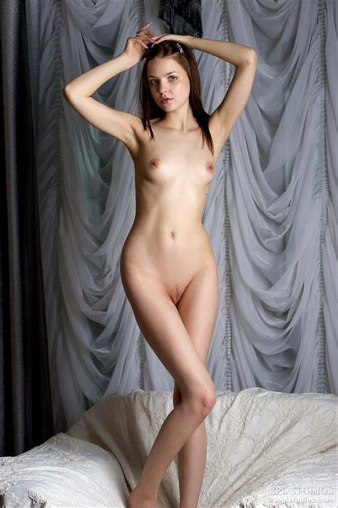 Join The Blue Eyed Girl For Sexy Nude Poses And Enjoy Her Small Titties XBabe