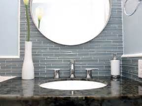 glass tile backsplash ideas bathroom fresh glass tile backsplash in bathroom ideas 4463