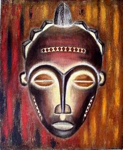 Masque Pour Peinture : masque africain laurence taxit ~ Edinachiropracticcenter.com Idées de Décoration