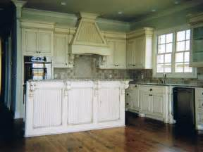 Country Kitchens with White Cabinets