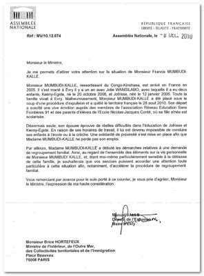 modele de lettre au prefet pour regularisation on s bouge 187 archives du 187 sans papiers francis