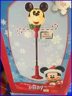 mickey mouse outdoor l post disney mickey mouse christmas l post new in box