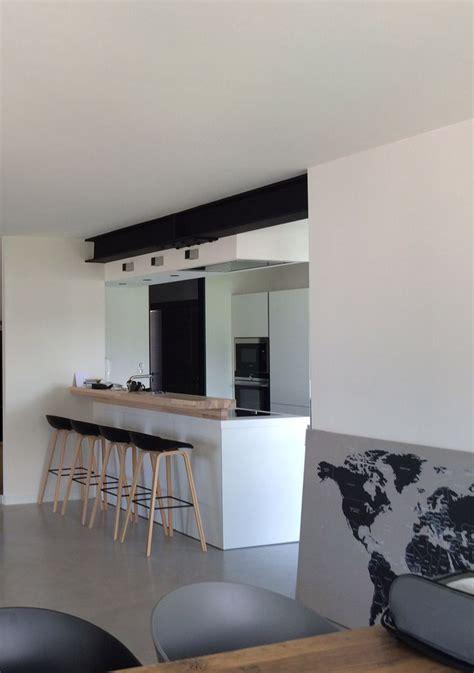 projet atelier cuisine cuisine moderne ouverte avec ipn apparente projet de rénovation intérieure à annecy le vieux
