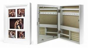 Bilderrahmen Zum Aufhängen : schmuckkasten bilderrahmen spiegel wei schmuckschrank ~ Lizthompson.info Haus und Dekorationen