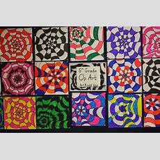 Art Rocks! Grade 5 Op Art
