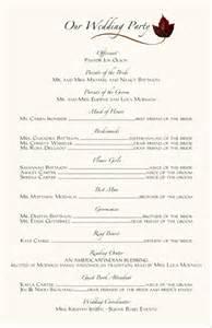 wording for wedding programs wedding programs wedding program wording program sles program exles wedding program templates