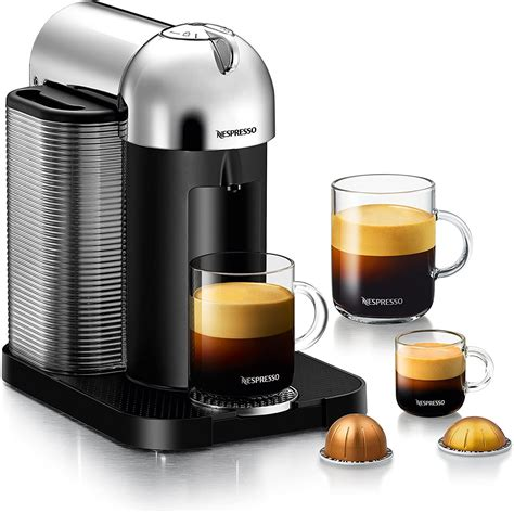Vertuo coffee makers use a patented extraction technology developed by nespresso known as centrifusion. Breville Nespresso Vertuo Next Coffee Maker with Milk Frother for $114.39 Shipped