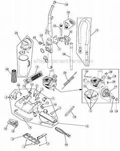 Dirt Devil M085810 Parts List And Diagram