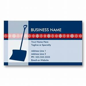 22 best snow removal business cards images on pinterest for Snow removal business cards