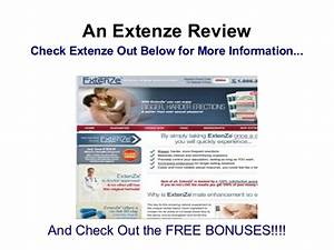 Extenze Pill When To Take  U2013 Extenze Review