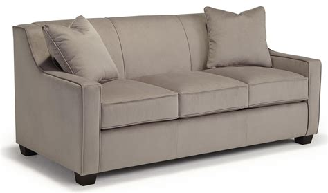 Air Sofa Sleeper by Marinette Size Air Sleeper With Toss Pillows By
