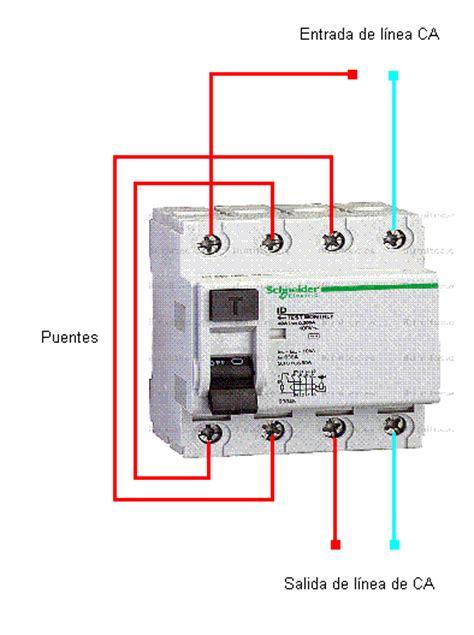 conexiones libres en diferencial 4 polos electricidad hogar todoexpertos