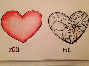 Broken heart | Quotes/ Broken Heart Drawings | Pinterest ...