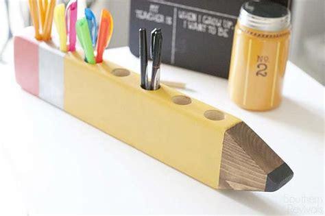 diy pencil holder for desk decoart crafts back to school pencil holder