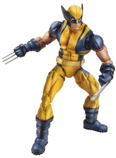 wolverine marvel legends action figure toy fair hasbro figures toys hero puck comics universe stars series cool collectibles baf emma