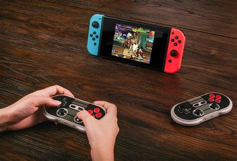 switch nintendo controllers 8bitdo retro compatible bluetooth pads fighter ultra updated ii support street