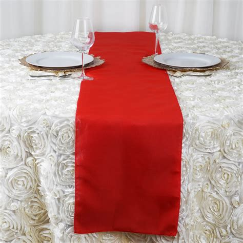 wedding table cloth runners 20 polyester 12x108 quot table runners wedding party reception