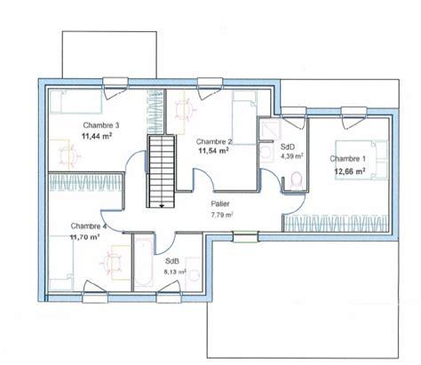 plan maison etage 3 chambres gratuit plan maison gratuit moderne 28 images plan maison
