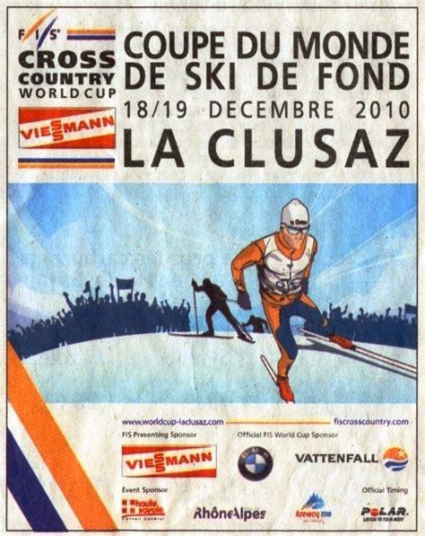 coupe du monde de ski de fond coupe du monde fis de ski de fond 224 la clusaz lionel tardy