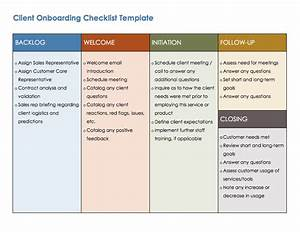 free onboarding checklists and templates smartsheet With client onboarding document template
