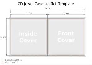 photo album page inserts cd template leaflet heath park 1