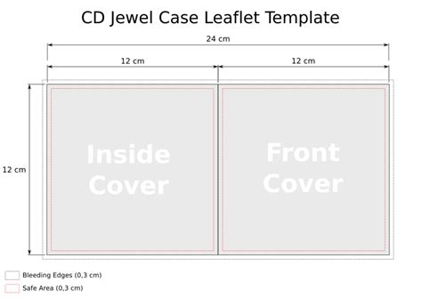 jewel case template great printable calendars
