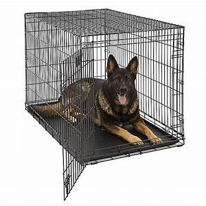 midwestr life stages single door folding dog crate dog With petsmart dog cages and crates