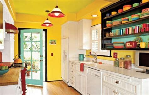peinture cuisine jaune couleur peinture cuisine 66 idées fantastiques