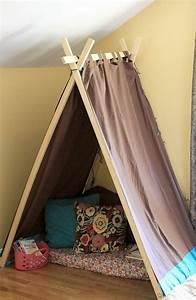 Comment Encadrer Une Toile : comment fabriquer un tipi 60 id es pour une tente indienne sympa ~ Voncanada.com Idées de Décoration