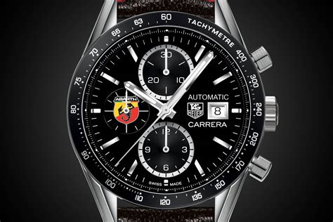 Tag Heuer And Abarth Partner With The Abarth 595