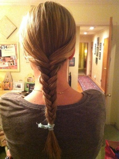 fishtail braid  steps  pictures