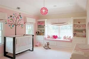 Babyzimmer Wandgestaltung Ideen : babyzimmer einrichten 50 s e ideen f r m dchen ~ Sanjose-hotels-ca.com Haus und Dekorationen