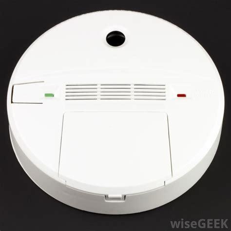 carbon monoxide detector beeping  pictures