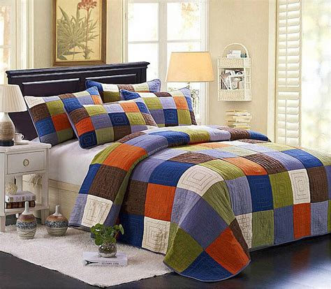 S&v American Country Style Bedding Sets Cotton Bedspreads