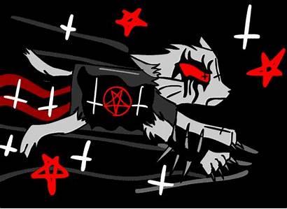 Metal Cat Nyan Satanist Gifs Deviantart Core
