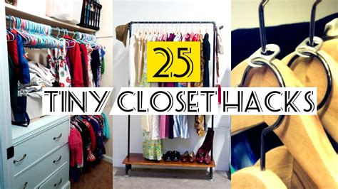organizing small spaces cheap 25 organizing small closet ideas youtube
