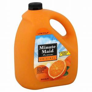 Minute Maid Low Acid Orange Juice Nutrition Facts ...