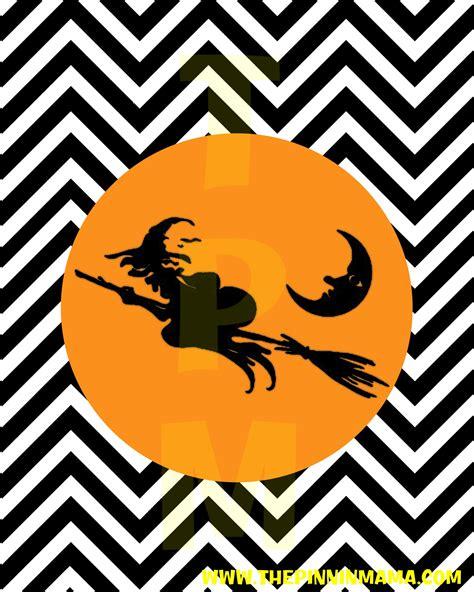 printable halloween free printable witch home decor the pinning
