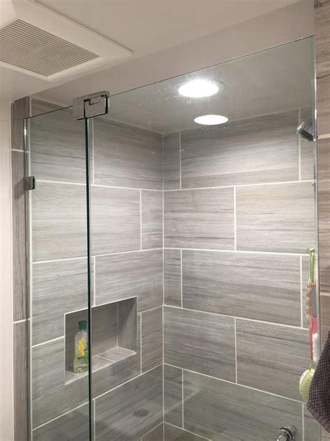 bathroom shower doors small bathroom frameless shower door installation wayne nj