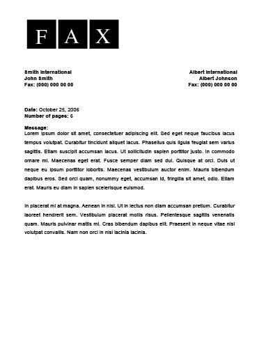 Fax Cover Letter Format by How To Format A Cover Letter For A Fax Fax Include