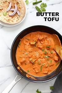Indian Butter Tofu Paneer - Tofu Butter Masala Recipe ...