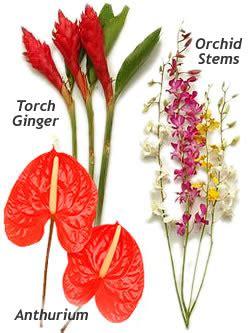 cut flower selection lei shop
