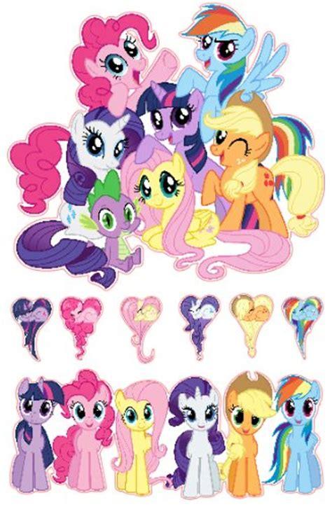 pony friendship  magic group shot set
