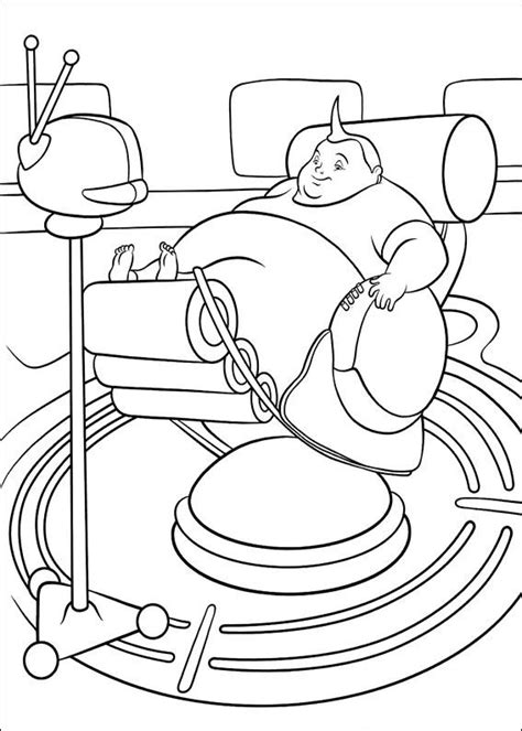 Tijdmachine Kleurplaat by Coloring Page Meet The Robinsons Coloring Pages 7