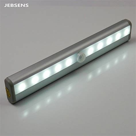 battery operated under counter lights jebsens new battery operated cool white automatic light