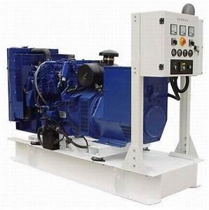 Generador Diesel De Perkins De 50 Herzios  60 Herzios